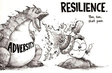 Resilience MI in cartoon Resilience
