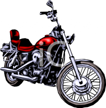 Moving clipart motorcycle #13
