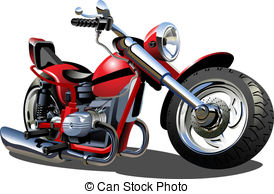 Biker clipart animated Vector Motorcycle  Motorcycle 946