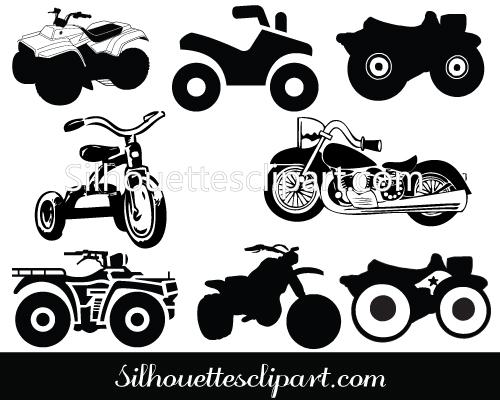 Motorcycle clipart atv Clipart Art Motorcycle collection art
