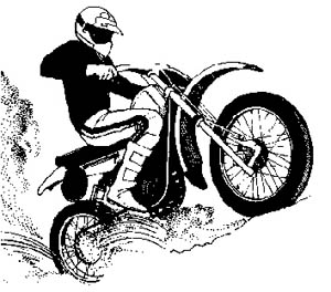 Motorcycle clipart atv Cycle To Clip
