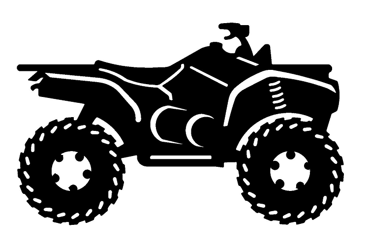 Motorcycle clipart atv Clipart Collection 4 collection art