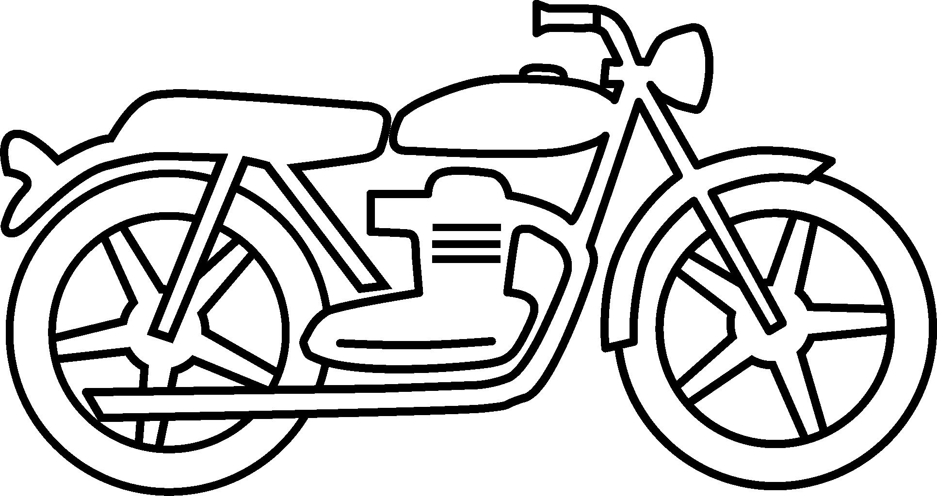 Drawn bike motor #1