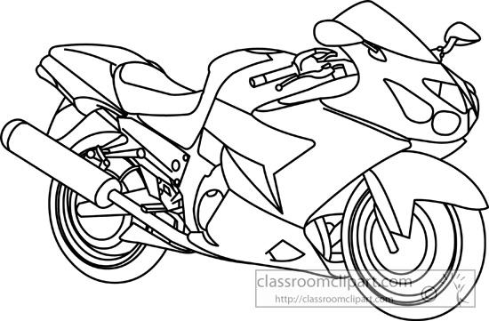 White clipart motorbike Cartoon clipart kid white and