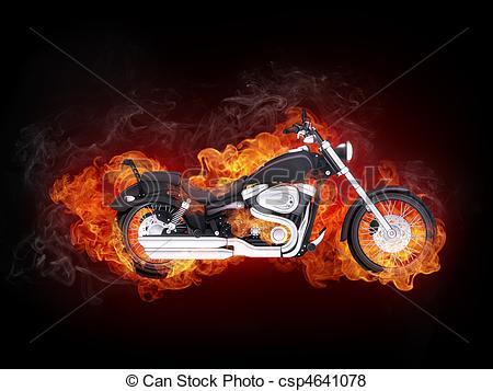Biker clipart sportbike Computer Clipart Motorcycle 946 Black