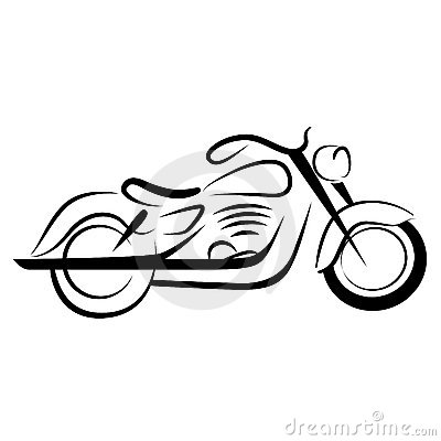 Drawn biker clip art #3