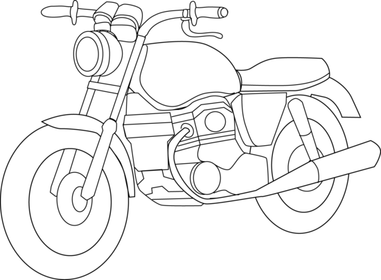 Drawn biker clip art #15