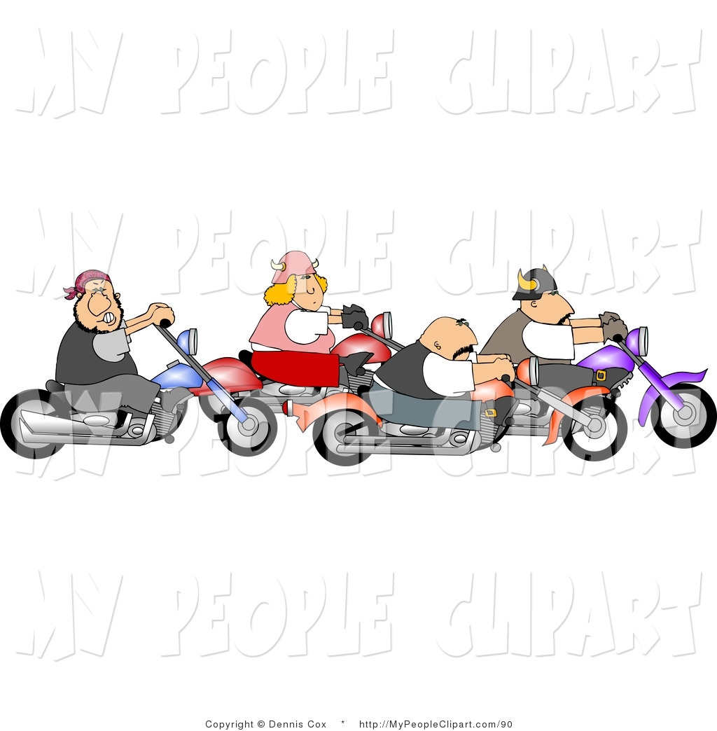Biker clipart old motorcycle Clipart Clipart Motorcycle Riding Panda