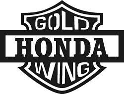 Honda clipart honda goldwing Gold Motorcycle Goldwing Free Goldwing