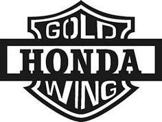 Honda clipart honda goldwing Gold Motorcycle Goldwing Honda Free