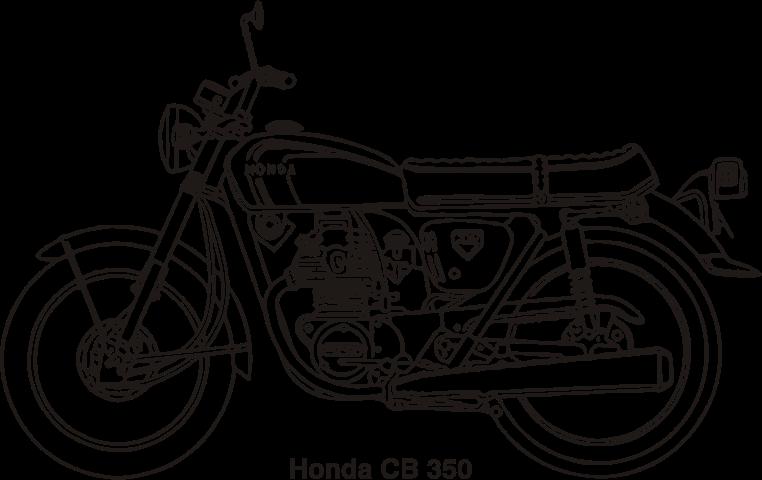 Motorcycle clipart honda motorcycle IMAGE 1969 Honda CB year