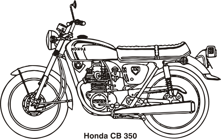Bike clipart honda motorcycle CB Clipart IMAGE Honda MEDIUM