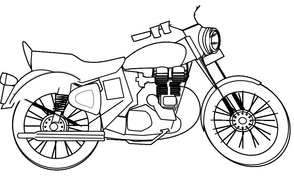 Motorcycle clipart honda motorcycle Clip royal Art Download on