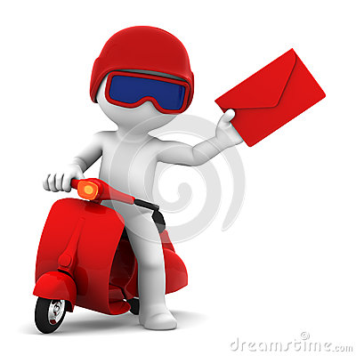Motorcycle clipart mail Die mail clipart postman (8+)