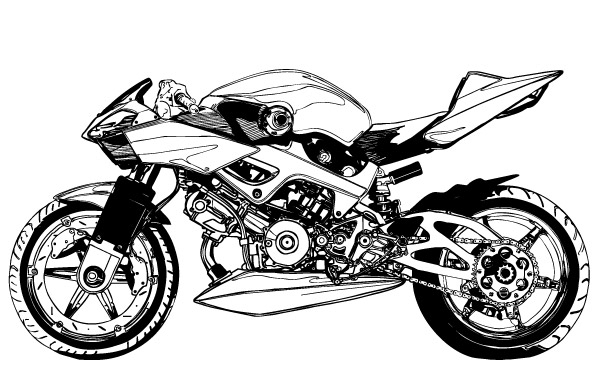 Motorcycle clipart motor racing Motorcycle  40475 Cliparts Art
