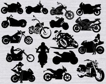 Biker clipart stationary bike Biker clipart svg Motorcycle svg