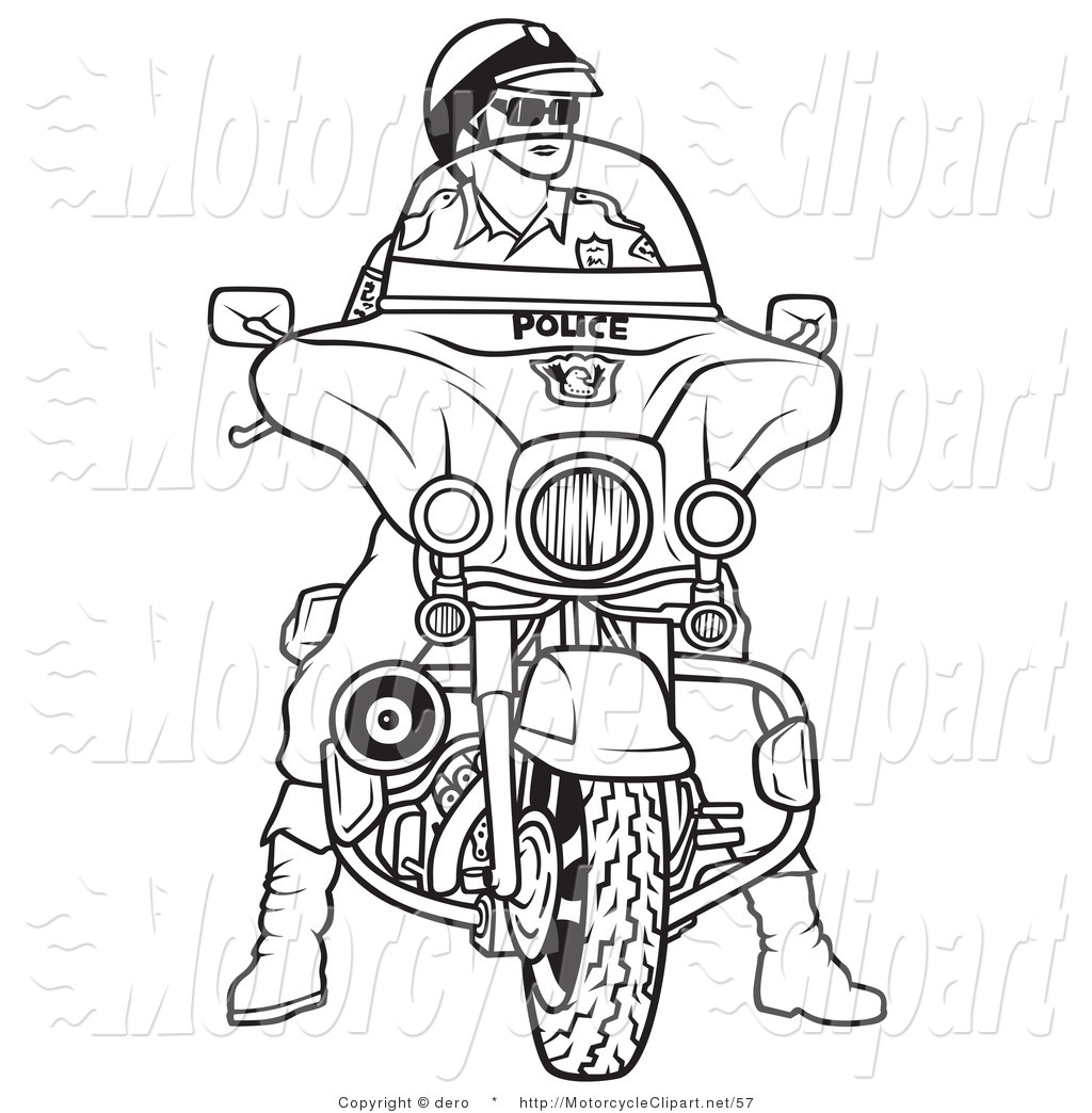 Drawing clipart police officer #9
