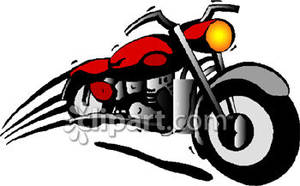 Moving clipart motorcycle Free Red Royalty Fast Big