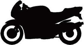 White clipart motorbike Motorcycle Free Free Motorcycle