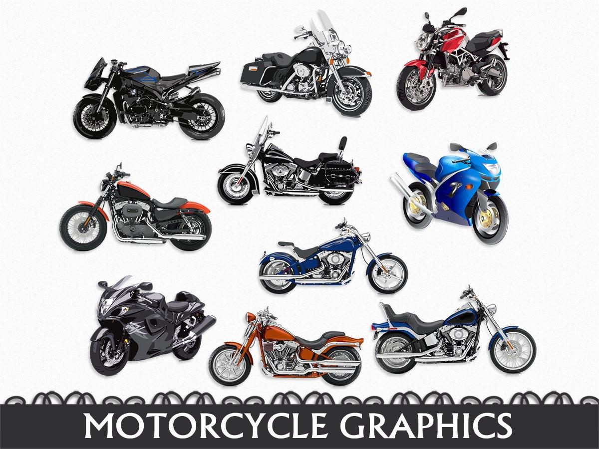 Biker clipart stationary bike Graphic JPG Transportation Motorcycle Etsy
