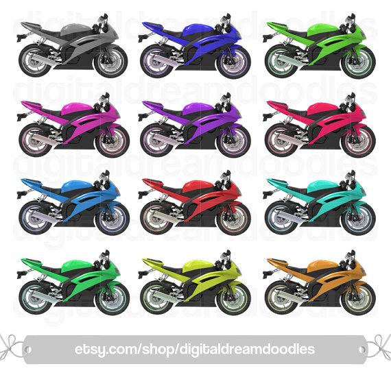 Yamaha clipart motor racing Clipart Speed Motor  Motorcycle
