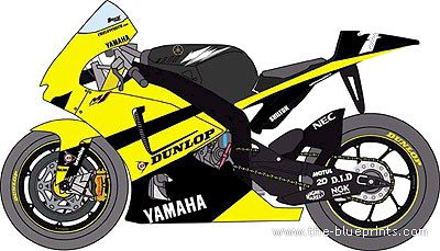 Yamaha clipart motorcycle (2007) The M1 > Motorcycles