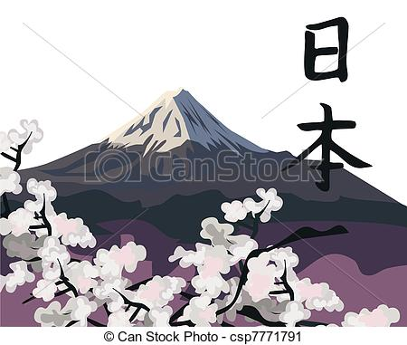 Mount Fuji clipart Csp7771791 Fuji  Mount Background