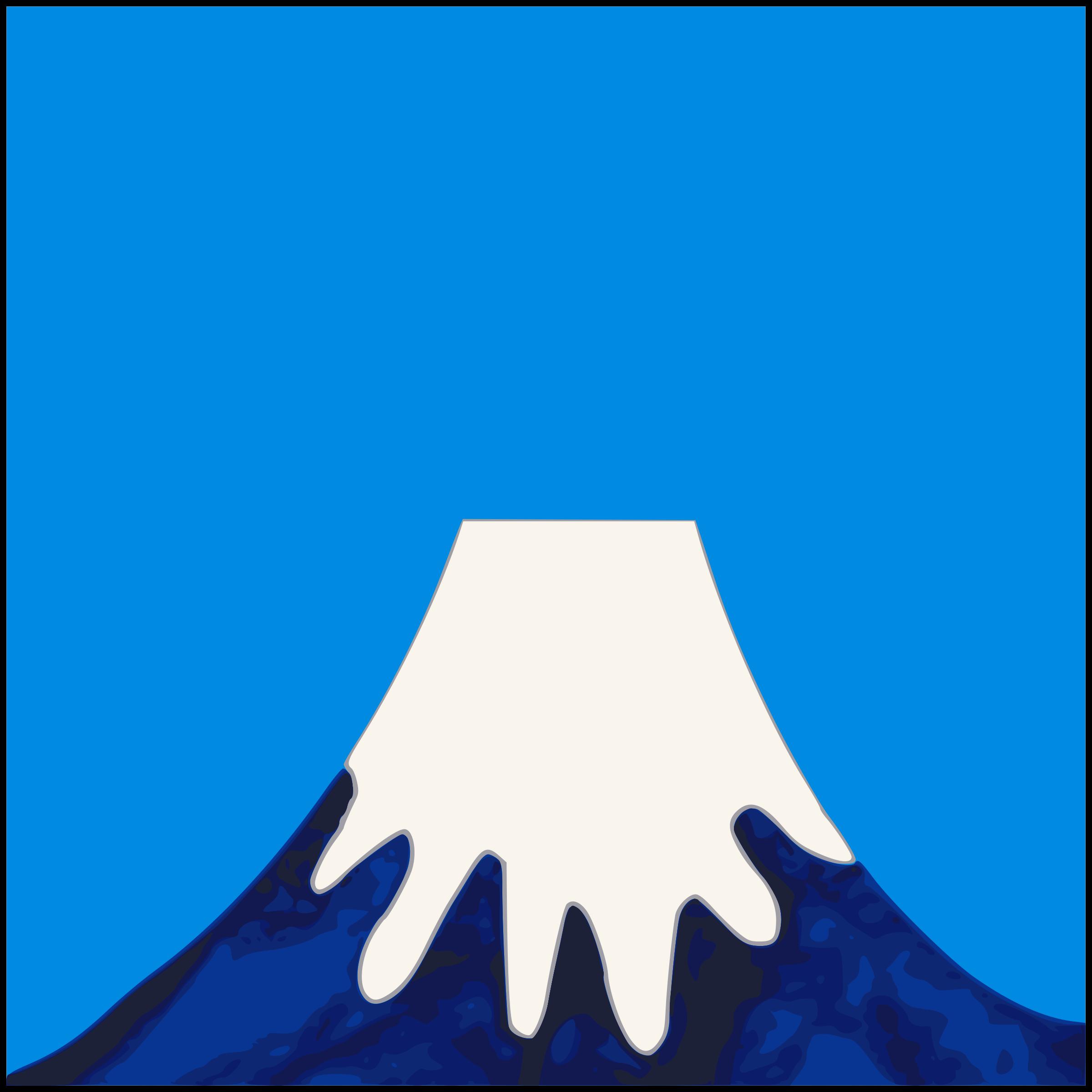 Mount Fuji clipart Fuji Mount Painted Fuji Painted