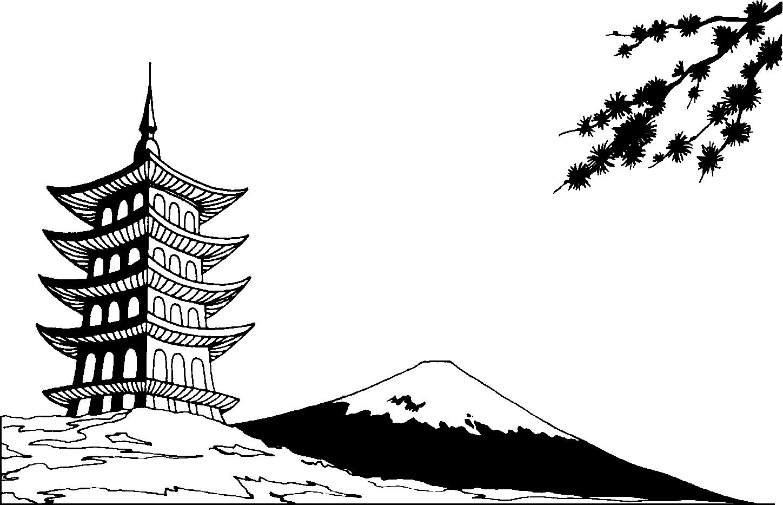 Mount Fuji clipart « Technical Mt » Practica