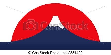 Mount Fuji clipart volcano 1 Fuji Mount Clip and