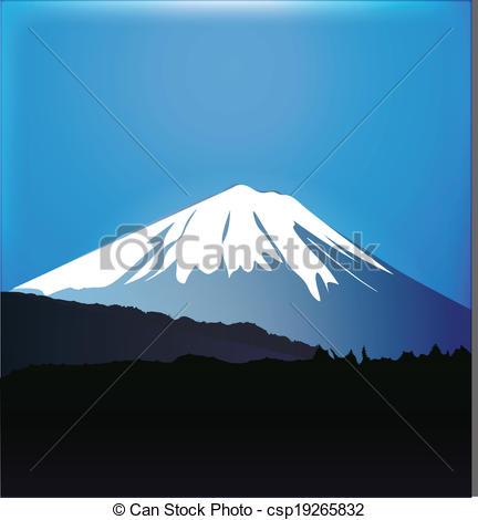 Mount Fuji clipart volcano Forest csp19265832 gr of Fuji