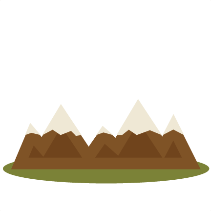 Mountain clipart cute #8
