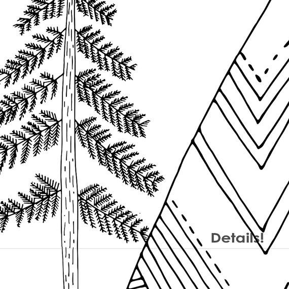 Mountain clipart hand drawn Mountain Art Adventure is digital