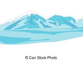 Mountain clipart icy #13