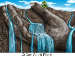 Mountain clipart stream #10