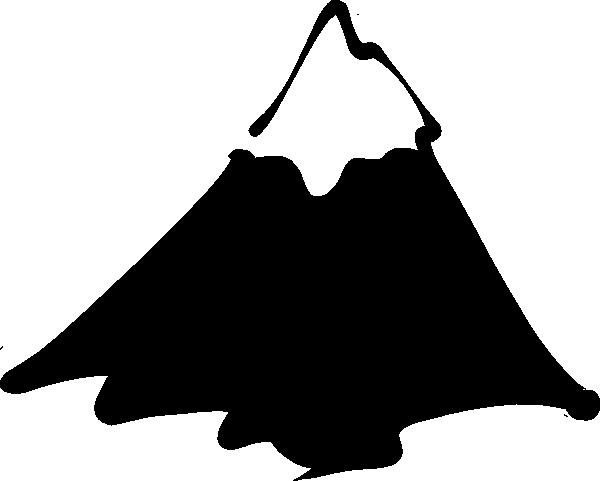 Mountain clipart two mountain #4