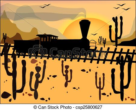 Mountain clipart wild west The the Steam on of