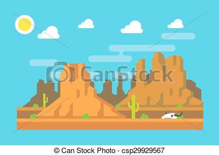 Mountain clipart wild west Arizona Vector mountain Vector mountain