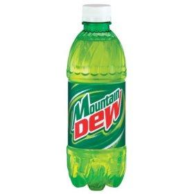 Mountain Dew clipart Coupon! 20 rare oz on