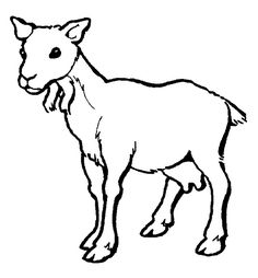 Mountain Goat clipart craft #14