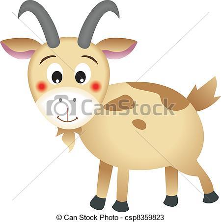 Mountain Goat clipart cute  (clip art) design goat