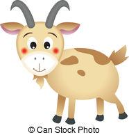 EPS art) Goat  8