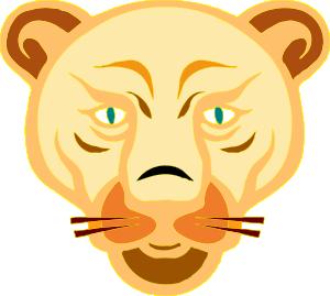 Mountain Lion clipart cartoon #1