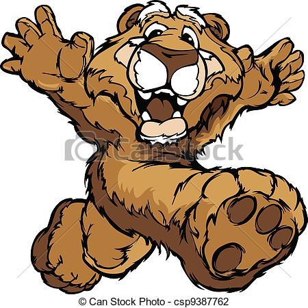 Mountain Lion clipart cartoon #2