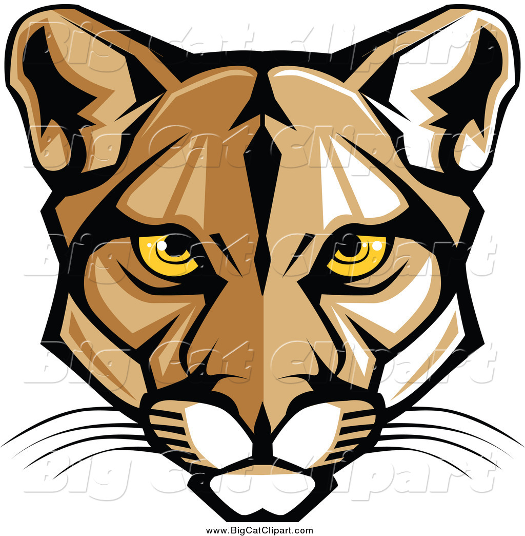 Larger clipart face Online Lion big Mountain cat