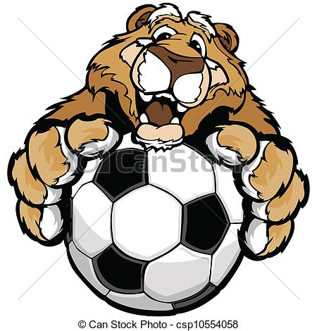 Soccer clipart cougar A Graphic  or Friendly