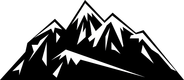 Mountain Ridge clipart Art – Mountain Art Download