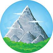 Peak clipart high mountain Free Clip Royalty Mountain Ridge