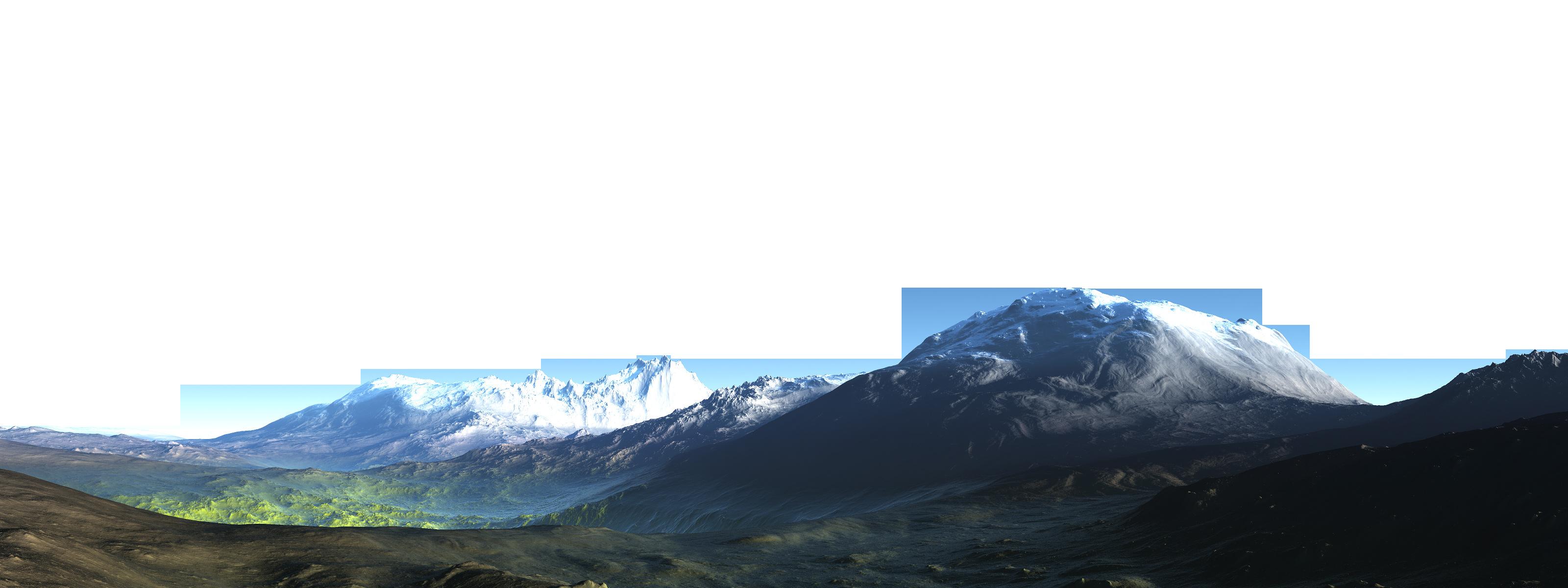 Mountain Ridge clipart transparent Mountain PNG Images Advertisement Transparent
