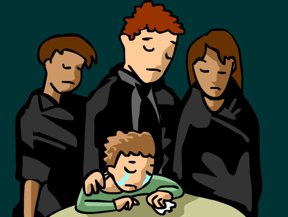 Grieve clipart empathy BrainPOP  Mourning